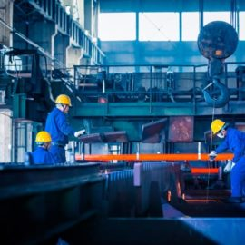 Manufacturing jobs in steel industry